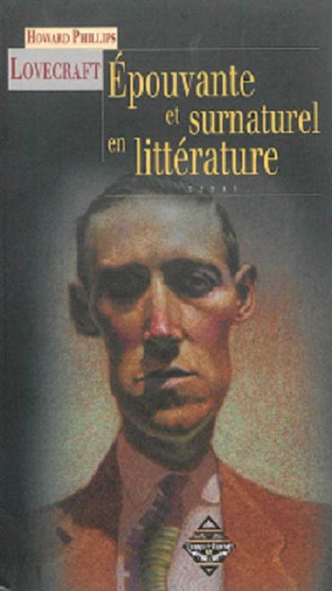 Couverture Epouvante et surnaturel en littérature
