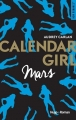 Couverture Calendar girl, tome 03 : Mars Editions Hugo & Cie (New Romance) 2017