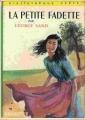 Couverture La petite Fadette Editions Hachette (Bibliothèque verte) 1933