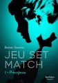 Couverture Jeu set match, tome 1 : Principessa Editions Marabout (Red Velvet) 2017