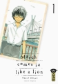 Couverture March comes in like a lion, tome 01 Editions Kana (Big) 2017