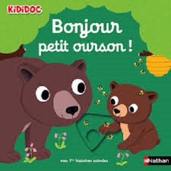 Couverture Bonjour petit ourson!