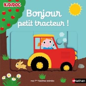 Couverture Bonjour petit tracteur!