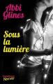 Couverture Sous la lumière Editions Hugo & cie (New way) 2017