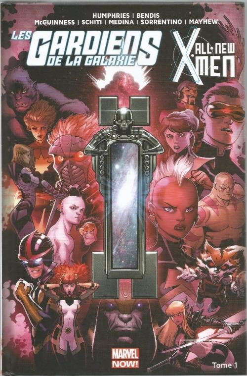 Couverture Les gardiens de la galaxie / All-New X-Men (Marvel Now) : Le vortex noir, partie 1