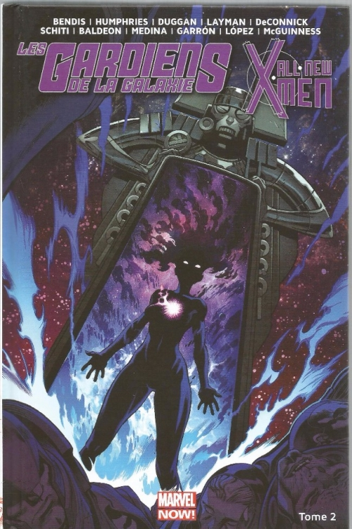 Couverture Les gardiens de la galaxie / All-New X-Men (Marvel Now) : Le vortex noir, partie 2