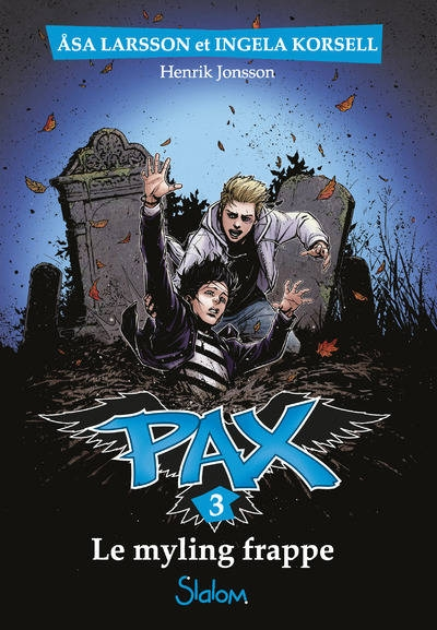 Couverture PAX, tome 3 : Le Myling frappe