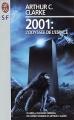 Couverture 2001 : L'odyssée de l'espace Editions J'ai Lu (S-F) 1996