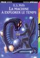 Couverture La Machine à explorer le temps Editions Folio  (Junior - Edition spéciale) 2002