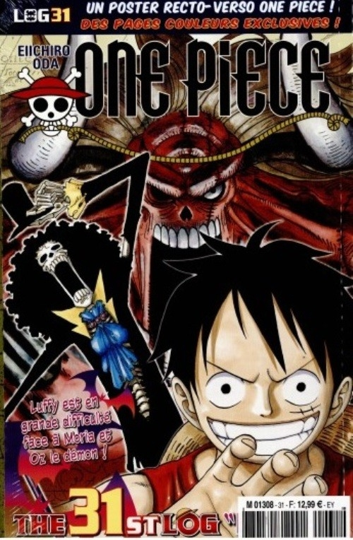 Couverture One Piece, Log, tome 31
