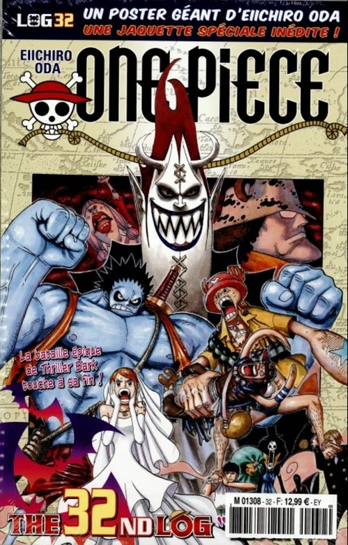 Couverture One Piece, Log, tome 32