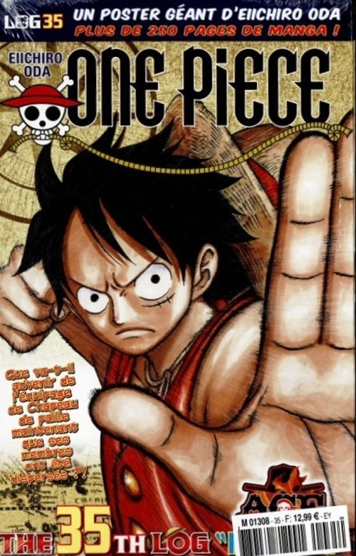 Couverture One Piece, Log, tome 35