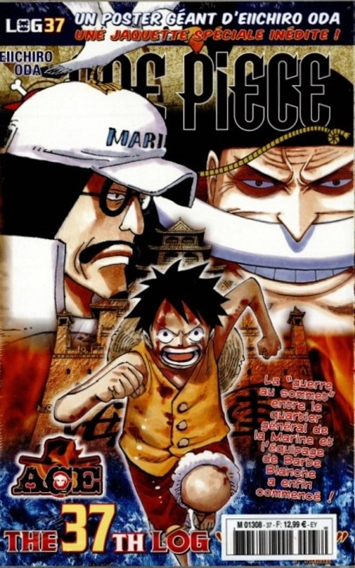 Couverture One Piece, Log, tome 37