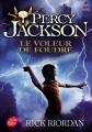 Couverture Percy Jackson, tome 1 : Le voleur de foudre Editions Le Livre de Poche (Jeunesse) 2016
