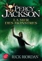 Couverture Percy Jackson, tome 2 : La Mer des monstres Editions Le Livre de Poche (Jeunesse) 2016