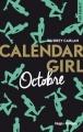 Couverture Calendar girl, tome 10 : Octobre Editions Hugo & cie (New romance) 2017
