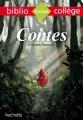 Couverture Contes Editions Hachette (Biblio collège) 2016