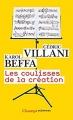 Couverture les coulisses de la création Editions Flammarion (Champs - Sciences) 2017