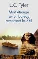 Couverture Mort étrange sur un bateau remontant le Nil Editions Terra Nova 2016