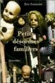 Couverture Petits désordres familiers Editions D'un noir si bleu 2009