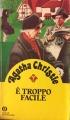 Couverture Un meurtre est-il facile ? Editions Oscar Mondadori 1985