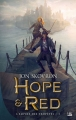 Couverture L'empire des tempêtes, tome 1 : Hope & Red Editions Bragelonne (Fantasy) 2017