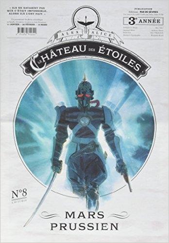 Couverture Le château des étoiles (revues), tome 08 : Mars prussien