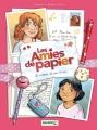 Couverture Les amies de papier, tome 1 : Le cadeau de nos 11 ans Editions Bamboo 2017