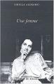 Couverture Une femme Editions du Rocher 2004