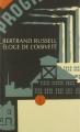 Couverture Éloge de l'oisiveté Editions Allia (Petite Collection) 2002