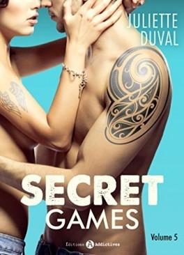 Couverture Secret Games, tome 5