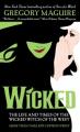 Couverture Wicked, tome 1 : La véritable histoire de la méchante sorcière de l'ouest Editions HarperCollins (Fantasy) 2007