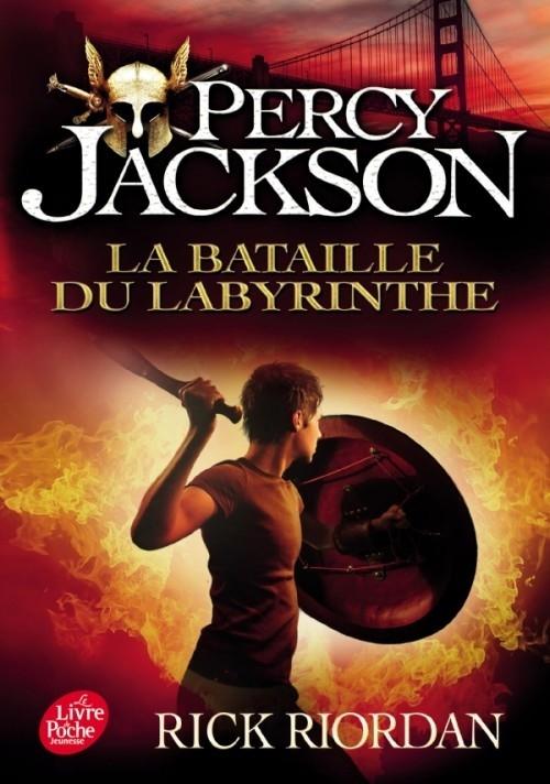Couverture Percy Jackson, tome 4 : La bataille du labyrinthe