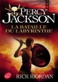 Couverture Percy Jackson, tome 4 : La Bataille du labyrinthe Editions Le Livre de Poche (Jeunesse) 2016