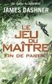 Couverture Le jeu du maître, tome 3 : Fin de partie Editions 12-21 2017