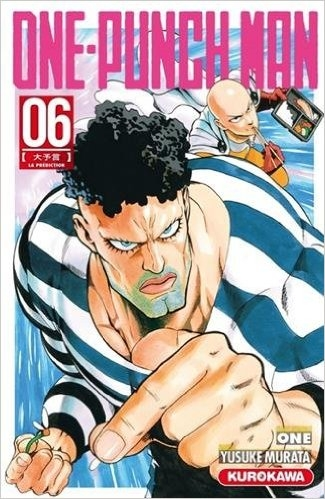 Couverture One-Punch Man, tome 6