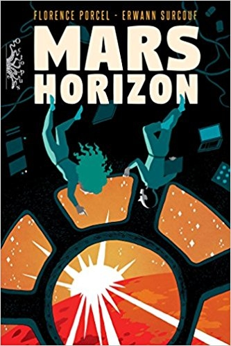 Couverture Mars Horizon
