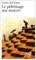 Couverture Le pèlerinage aux sources Editions Folio  1972