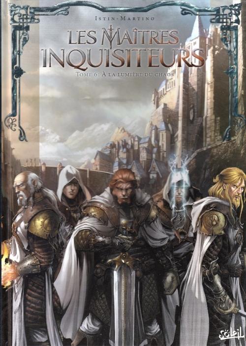 Couverture Les maîtres inquisiteurs, tome 06 : A la lumière du chaos