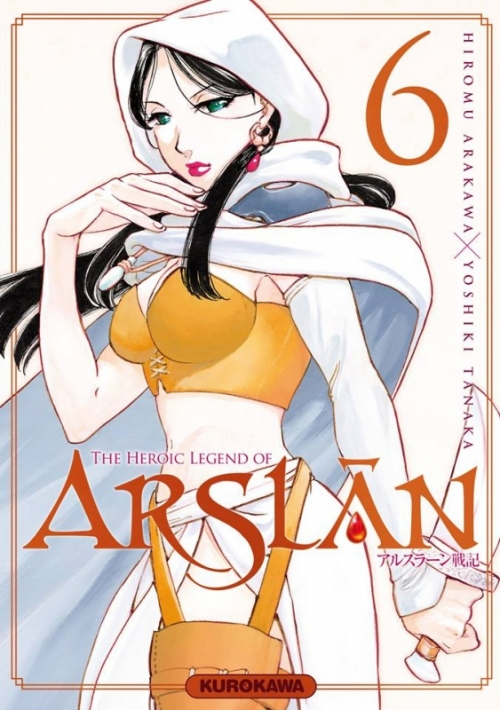 Couverture The Heroic Legend of Arslân, tome 6