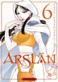 Couverture The Heroic Legend of Arslân, tome 6 Editions Kurokawa (Shônen) 2017