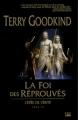 Couverture L'épée de vérité, tome 06 : La foi des réprouvés Editions Bragelonne 2007