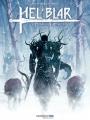 Couverture Hel'Blar, tome 1 : Les chasseurs de Draugar Editions Sandawe 2017