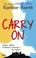 Couverture Carry on Editions Pocket (Jeunesse) 2017