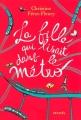 Couverture La fille qui lisait dans le métro Editions Denoël 2017