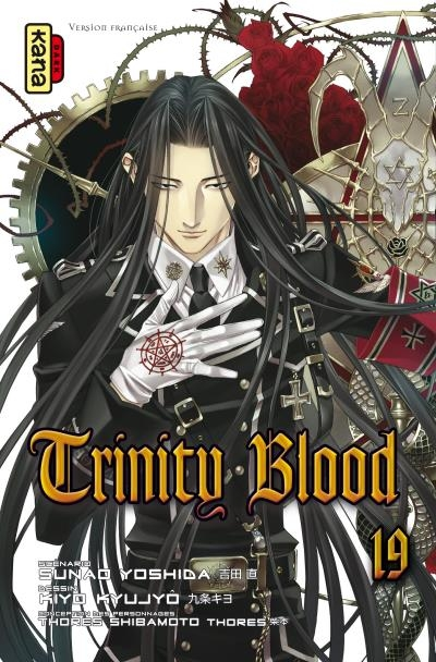 Couverture Trinity Blood, tome 19