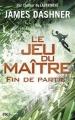 Couverture Le jeu du maître, tome 3 : Fin de partie Editions Pocket (Jeunesse) 2017