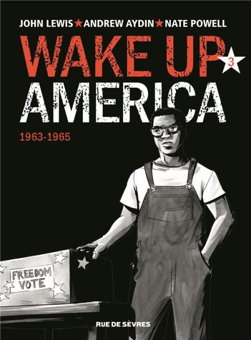Couverture Wake up America, tome 3 : 1963-1965