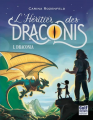 Couverture L'Héritier des Draconis, tome 1 : Draconia Editions Gulf Stream 2017