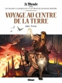 Couverture Voyage au centre de la Terre Editions Glénat 2017
